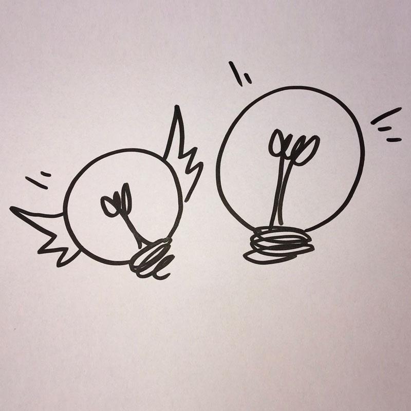 Tip til at udvælge ideer – hurtigt